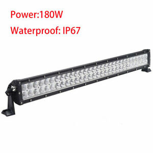 180w 32 Led Work Light Bar Flood Spot Combo Offroad 4wd Suv 2015 Driving Lamp