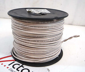 New Stranded Copper Wire 12ga Thhn 500 Ft cable White