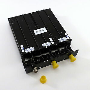 Fiplex Dcl4533 3 Uhf 470 500 Mhz 27 Mhz Duplexer 6 cavity Tuned 469 55 495 80