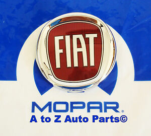 New 2012 2017 Fiat 500 500c Front Grille Emblem Or Badge Oem Mopar
