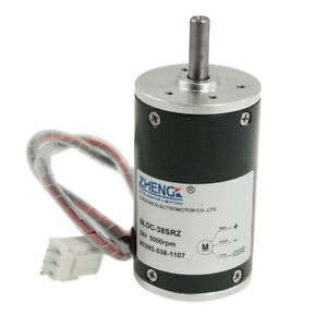 5000rpm Speed 38mm Diameter Low Noise Brushless Motor Dc 24v