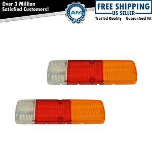 Oem 8155135061 Taillight Taillamp Lens Pair Set For Land Cruiser Fj40 Bj40 New