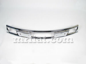 Fiat 124 Spider Front Chrome Bumper 1975 85 Oem New