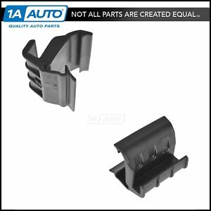 Oem Soft Top Window Retainer Rear Driver Passenger Side Pair For Jeep Wrangler