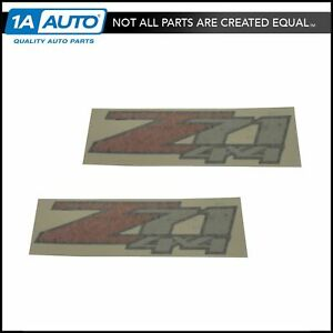 Oem 25798300 Z71 4x4 Bedside Decal Pair Set Of 2 For Chevy Gmc Pickup Truck New