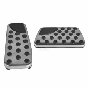 Oem 82211154ab Stainless Steel Brake Gas Pedal Pad Kit For Challenger Charger