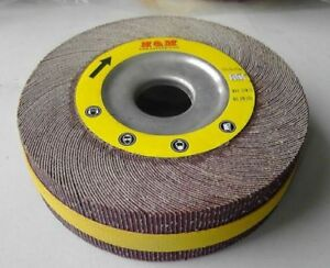 10pcs 8 In Flap Sanding Wheels 8 X 1 X 1 A o 60 Grit Unmounted Wholesale