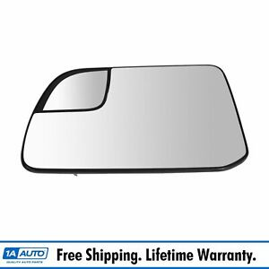 Oem Mirror Glass Power Heated With Spotter Glass Backing Lh For Ford Lincoln