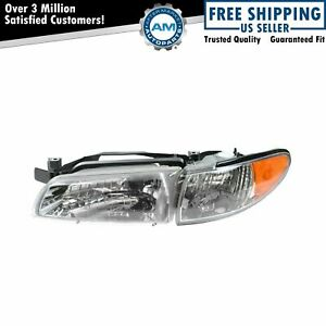 Headlight Headlamp Driver Side Left Lh New For 97 03 Pontiac Grand Prix