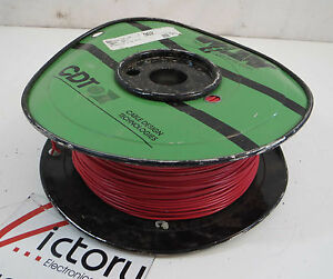 New West Penn Solid Copper Wire 14 Awg 1 Conductor 1000 Ft red Cable
