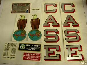 J I Case L Tractor Decal Set New Free Shipping