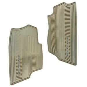 Oem Rubber Floor Mats Escalade Logoed Cashmere Molded Rubber Pair For Escalade