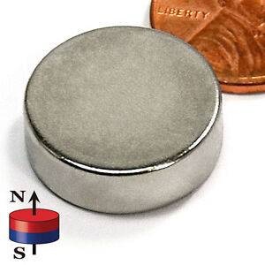 Cms Magnetics 10 Pieces Super Strong Neodymium Magnets N52 3 4x1 4