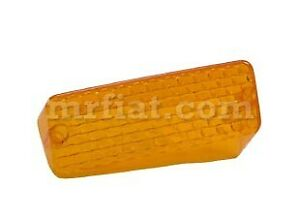 Fiat Dino 2000 2400 Coupe Carello Right Front Indicator Lens Orange New