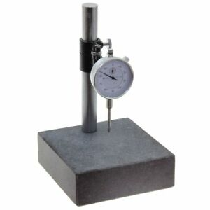 Granite Check Stand Comparator Base Surface Plate Dial Indicator Gauge 6x6