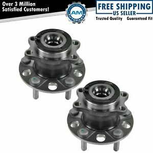 Rear Wheel Hub Bearing Left Right Pair For Compass Patriot W Abs Awd