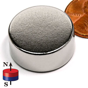 Cms Magnetics 20 Pieces Super Strong Neodymium Magnets N52 1x3 8