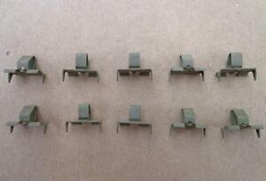 10 Nos Door Quarter Window Channel Fastener 49 60 Gm 52 60 Ford 55 60 Chry 4667