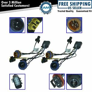 Oem 15950809 Headlight Wiring Harness Lh Rh Pair Set Of 2 For Gm Pickup Suv
