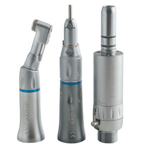 Dental Slow Low Speed Wrench Type Handpiece Complete Kit Set E type 2h 2 Hole