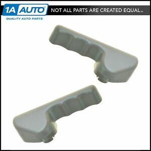 Oem Seat Recliner Lever Adjustment Handle Front Pair Set Of 2 For Ford Mercury