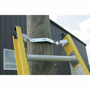 Werner 71 1 Padded Fixed V Rung Kit Fits Fiberglass Extension Ladder Cable