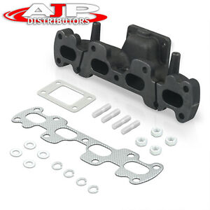 For 94 05 Mazda Miata Mx5 1 8l Dohc T3 T4 T3 t4 Turbo Exhaust Manifold Cast Iron