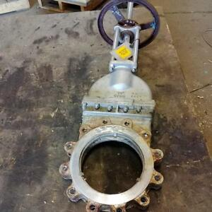 10 Cf8m Knife Gate Valve 7477 300