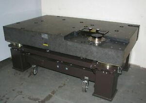 Heavy Duty Vibration Isolation Table Granite Top 79x47x33 Made By Ntn Japan