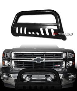 For 2007 2014 Escalade chevy Avalanche Black Bull Bar Brush Bumper Grille Guard