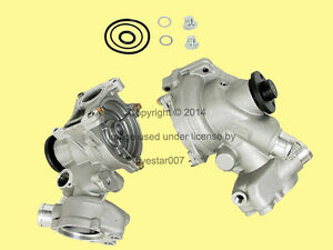 Graf Engine Motor Coolant Cooling Water Pump New For Mercedes Without Oil Cooler