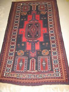 Antique Shirvan Russian Hand Knotted Wool Rug 3 6 X 6 4 Wool Wool Foundation