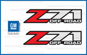 2001 2006 Chevy Silverado Z71 Off Road Decals F Stickers 1500 Chevrolet