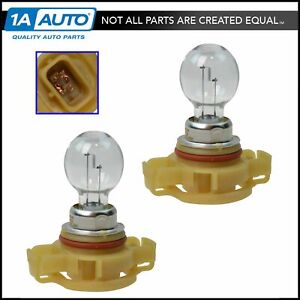 Oem L000psx24w Fog Driving Light Lamp Bulb With Socket Lh Rh Pair For Dodge Jeep
