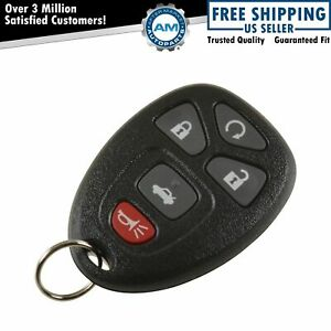 Oem Keyless Entry Remote Transmitter 5 Button Remote Start For Chevy Gmc Buick