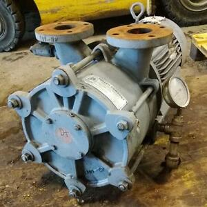 Fuller Company Sutorbilt 20hp Liquid Ring Pump Model Chr 1200