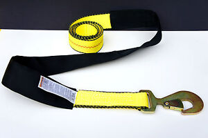 10 Wheel Lift Straps Repo Strap Car Tie Down 2 X8 W Sleeve F Tow Truck Wrecker