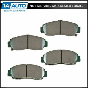Premium Posi Ceramic Disc Brake Pads Set Front For Accord Tsx New