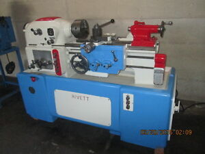 Rivett Model 1020s Toolmakers Lathe Rare Hard To Find Item Highest Quality