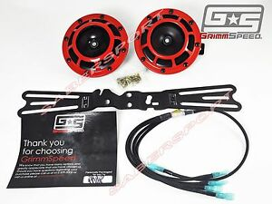 Grimmspeed Mounting Bracket Supertone Hella Horn Wiring For 02 14 Wrx Sti