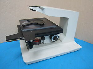 Nanometrics Nanaospec Microscope Base X Y Z Table