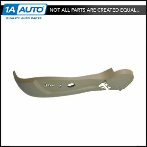 Oem 20954453 Seat Adjuster Trim Cover Panel Cashmere Driver Side Outer For Gm