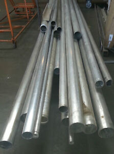 Alloy 6061 t651 Surplus Aluminum Tube 4 X 125 X 54 gr