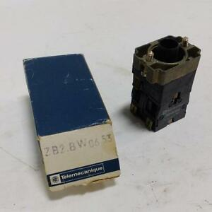 Telemecanique Push Button Switch Body Zb2 bw0653 New pzf