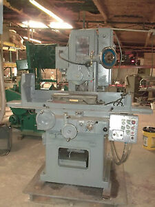 Gallmeyer Livingston G l 8 X 24 Hydraulic Surface Grinder