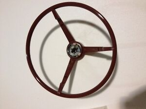 1965 1966 Ford Mustang Steering Wheel Red