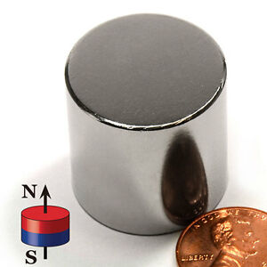 Cms Magnetics Super Strong N52 Neodymium Cylinder Magnet 1 x 1 Best Seller