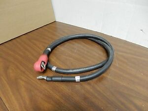 Prestolite 1 0 Battery Cable 6 Foot M13486 1 14 W Red Cover Lugs On Ends New