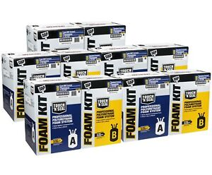 Touch N Seal U2 600 Spray Foam Insulation Kit Closed Cell 3000 Bf qty Of 5 Kits