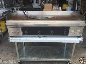 Electric 48 Flat Top Griddle Counter Top 12 0000 Watts 220v 1 Phase